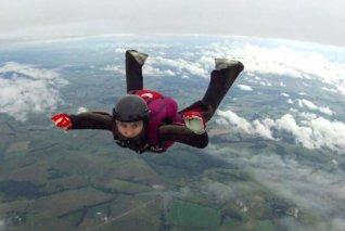 Екатерина Маслова: победила страх высоты и начала прыгать с