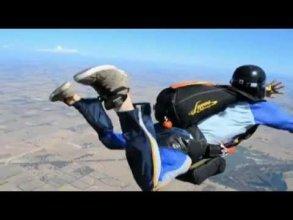 Особые случаи при прыжках с парашютом - YouTube