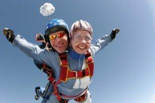 Ответы Mail.Ru: А прыгать с парашютом это опасно?