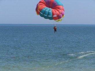 парасейлинг. полет над Азовским морем на парашюте | arabatka.com