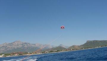 Полет на парашюте за катером | Путешествия, походы, треккинг