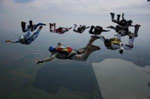 Прыжки с парашютом в Азовском аэроклубе, и Ростове-на-Дону, прыжки