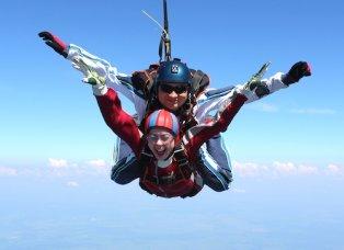 Прыжки с парашютом в Москве, прыжок с парашютом в Московской